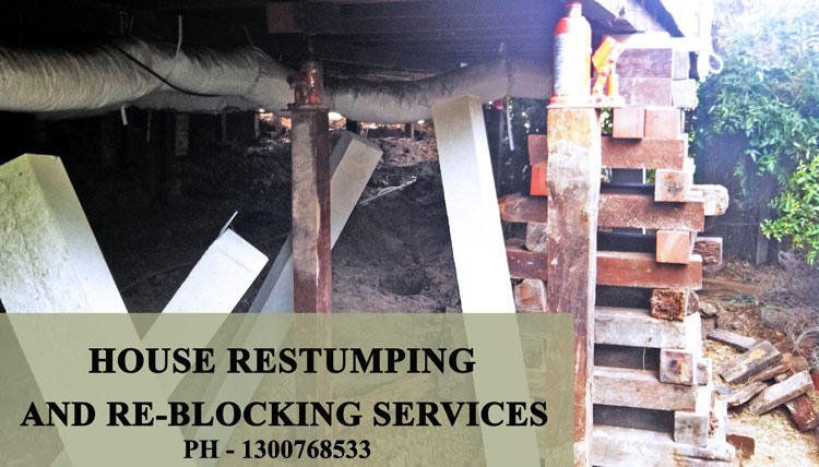 House Re-Stumping Ross Creek