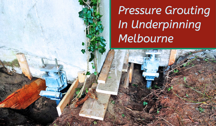 Pressure Grouting Ross Creek