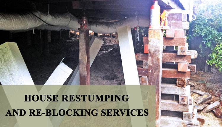 House Re-Stumping Cross Keys